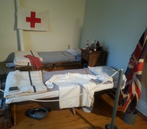 Field Hospital Display at Marr Residence