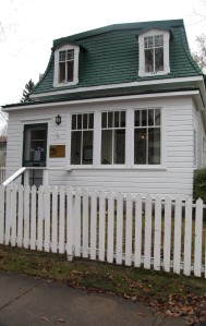 Front View of Marr Residence