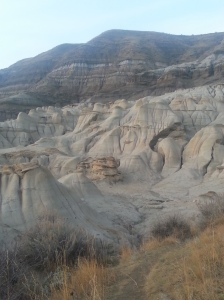 Take a walk through Alberta's Badlands.